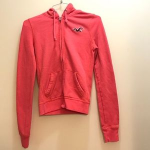 Hollister Size XS Coral Hoodie: 2094
